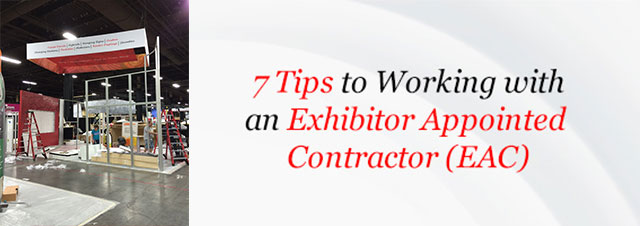 Trade Show Exhibit Appointed Contractor
